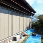 木製雨戸の交換工事