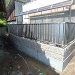 テラス・ブロック塀の外構工事