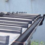 軒樋の交換工事